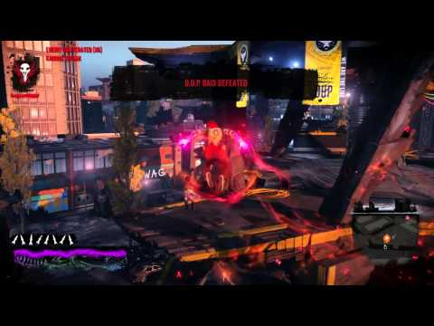 inFAMOUS Second Son™ - Free Roam At 100% Evil Karma Completion