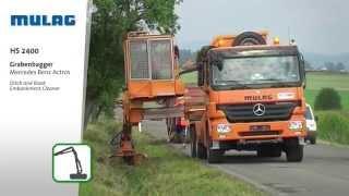 MULAG Grabenbagger HS 2400
