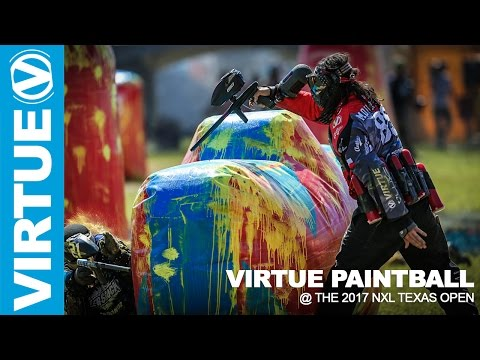 NXL Paintball - The 2017 Texas Open - Highlights - Virtue Paintball