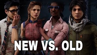 Dead by Daylight | Survivor Remodel Comparisons (Dwight, Meg, Claudette, and Jake)