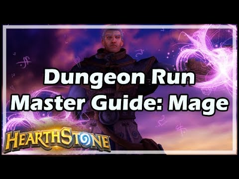 [Hearthstone] Dungeon Run Master Guide: Mage
