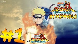 Naruto Shippuden Ultimate Ninja Storm Generations | Walkthrough ITA Parte 1