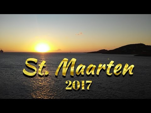 St. Maarten 2017 MSC Divina Cruise Port Day Tour and Review, Orient Bay Beach, Cupecoy Beach  HD