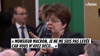 Une maire à Macron : « Je ne me suis pas levée car vous m'avez déçu »