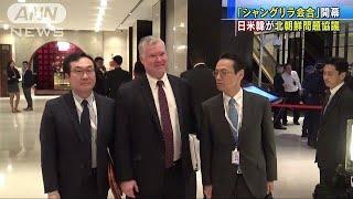 日米韓がシンガポールで北朝鮮問題を協議(19/06/01)