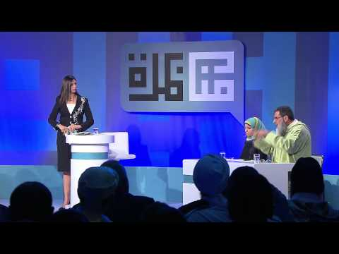 """مبادرة مناظرة #DD14: """"حرية التعبير ليس لها قيود"""" مع الشيخ محمد الفزازي و فاطمة ناعوت"""