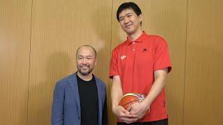 漫画「スラムダンク」の作者・井上雄彦さんとバスケット選手の対談企画...