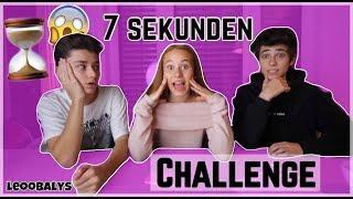 7 Sekunden Challenge mit ARIAN & KEANU😂😱| LEOOBALYS