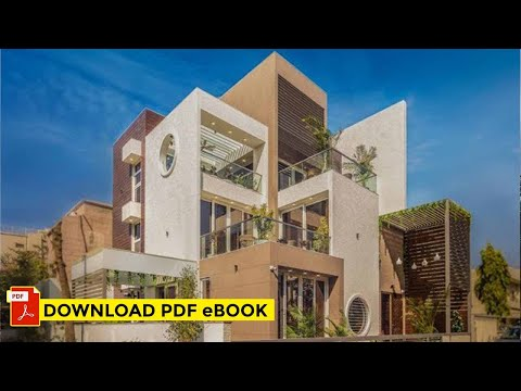 House in Ahmedabad | Stepped Cube House | Shayona Consultant - Architecture & Interior Work