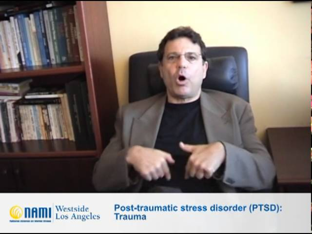 Post-traumatic stress disorder (PTSD): Trauma