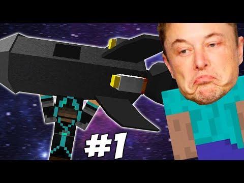 ПРИКЛЮЧЕНИЯ ИЛОНА МАСКА в Minecraft #1