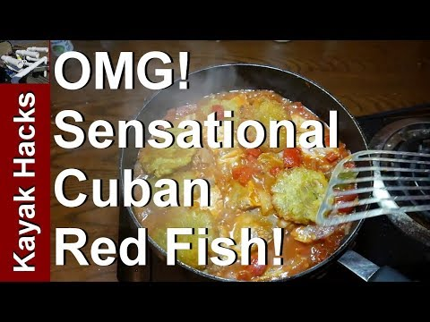 TOP SECRET Cuban Red Fish Recipe - Catch And Cook