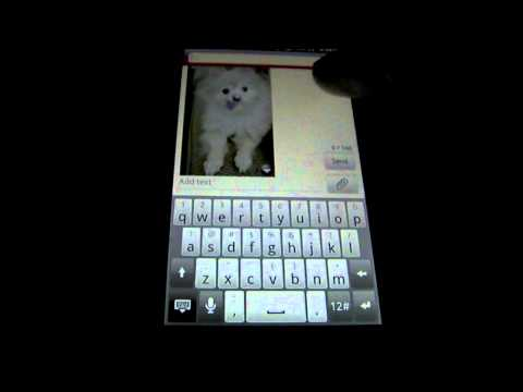 HOW TO SEND A PICTURE MESSAGE ON ANDROID!