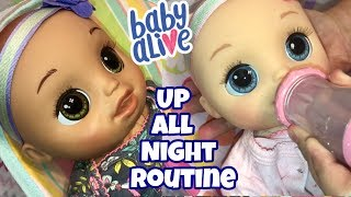 Baby Alive Real As Can Be twins wont go to sleep baby Alive video