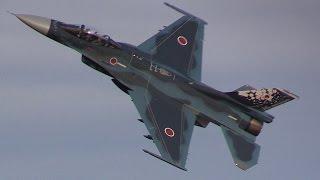 入間基地航空祭F-2帰投 圧巻のバイバイハイレート!!! 期待を裏切らない三沢基地のF-2は最高です!!! thumbnail
