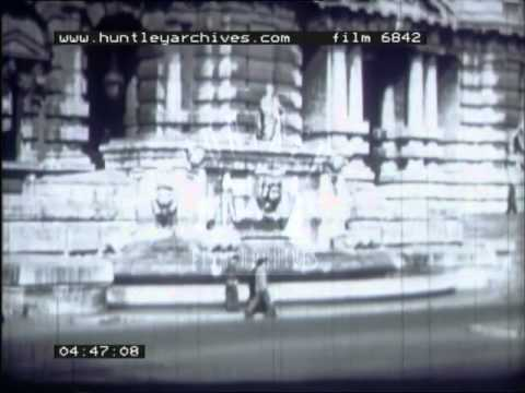 Profile of Italy's natural features and it's post-war economy, 1950's - Film 6842