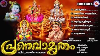 പ്രണവാമൃതം   hindu devotional songs malayalam   mc audios and videos  
