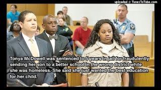 Homeless Mother Sentenced To 5 Years In Prison For Enrolling 6 Year Old Son In Better School!