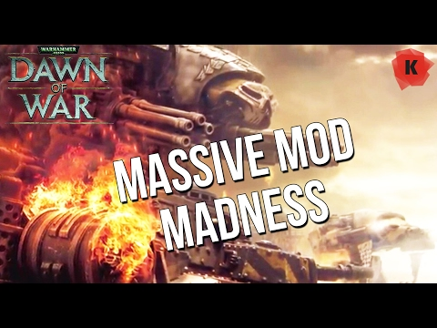INSTANT BUILD, UNLIMITED RESOURCES?! Dawn Of War: Soulstorm ULTIMATE APOCALYPSE Mod Gameplay