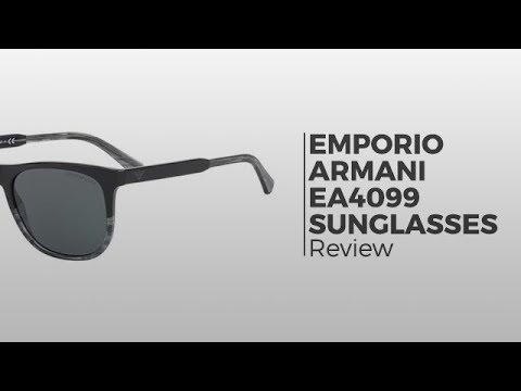 Emporio Armani EA4099 Sunglasses   Flash Preview - YouTube ce737f2228