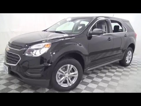 2016 Black Chevrolet Equinox Ls