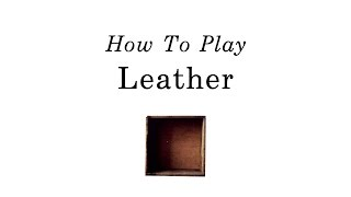 How to play 'Leather' by Tori Amos