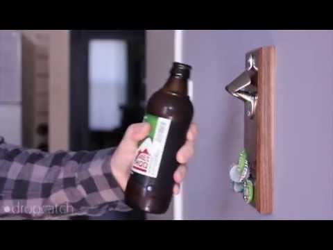 Magnetic Bottle Opener | DropCatch is the Best Way to Open Beer