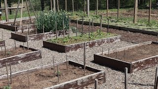 Planting The Garden 2018 First The Raised Bed Area