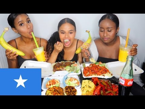 SOMALI FOOD MUKBANG | FENTY vs. KYLIE & INSECURE REVIEW thumbnail