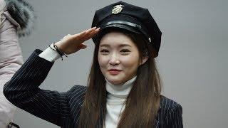 4k] 180128 상암 팬사인회 청하(chungha) 풀직캠1 full fancam -