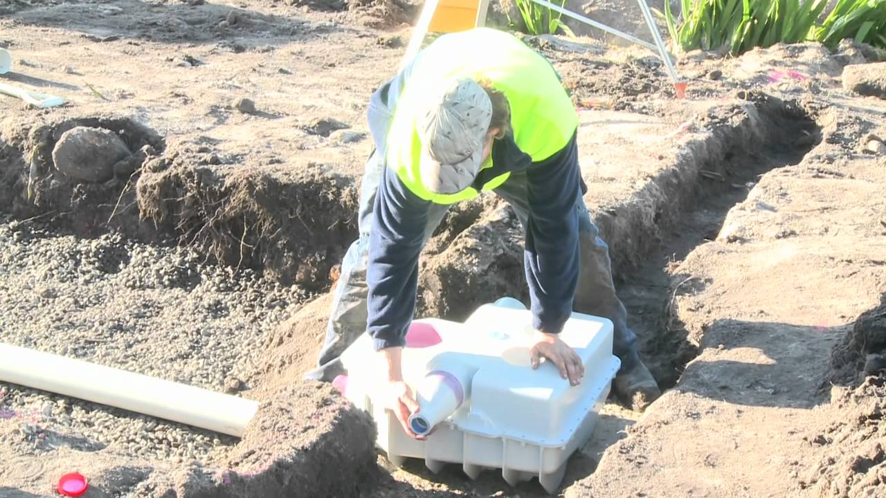 Drainwave - Absorption Trench Installation