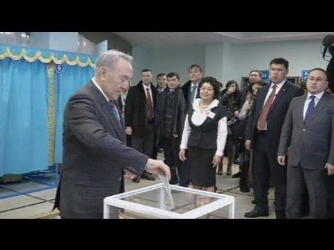 Polls close in Kazakhstan's democratic test