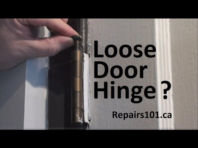 & Easy Ways to Repair a Loose Wood Screw Hole for a Hinge - wikiHow