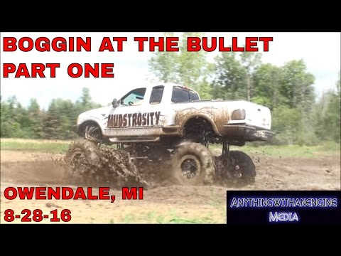 BOGGIN' AT THE BULLET PART ONE  SILVER BULLET SPEEDWAY, OWENDALE, MICHIGAN 8-28-16