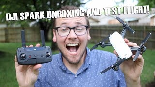DJI Spark Unboxing and First Test Flight