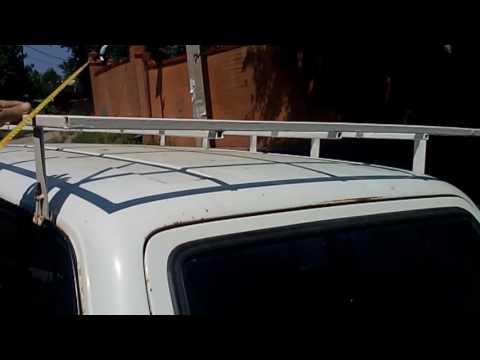 Самодельный багажник на крышу ваз 2104