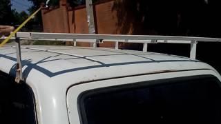 видео багажник на крышу ваз 2107