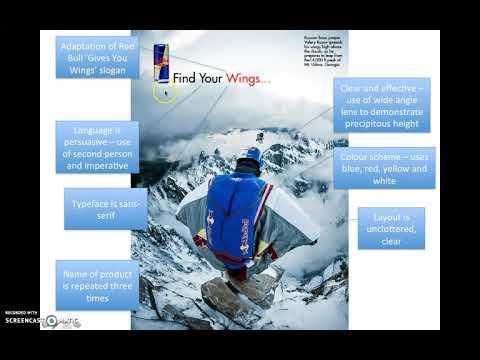 Lesson 6 - Analysing Print Adverts