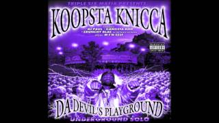 Stash Pot - Koopsta Knicca (Chopped And Screwed By @MenaceQuaid)