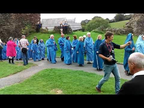 Ceremonies of the Bards of Cornwall Launceston