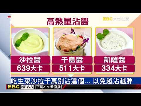 吃生菜千萬別沾這個…熱量破表「瘦」不了