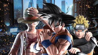 JUMP FORCE All Cutscenes (Game Movie) 1080p 60FPS