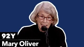 Mary Oliver reads from A Thousand Mornings