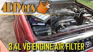 Toyota Tacoma 1995-2004 Engine Air Filter Replacement