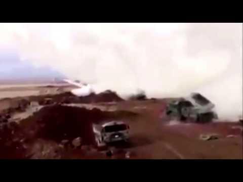 Afrin: Turkish 'multiple launch rocket system' fires at Kurdish targets