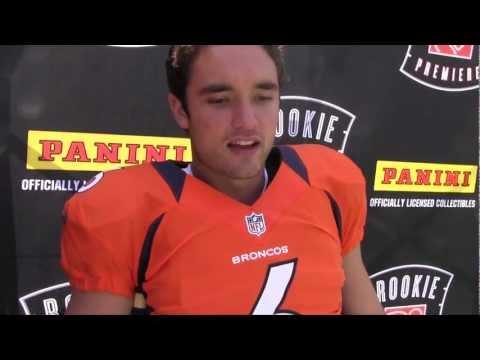 The Panini America Interview: Denver Broncos Rookie Quarterback Brock Osweiler