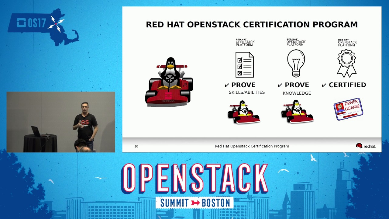 Red Hat Openstack Certification Program Youtube