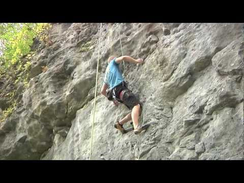 Mark Johnson Rock Climbing