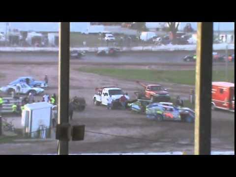IMCA Sportmod Feature Seymour Speedway 6/21/15