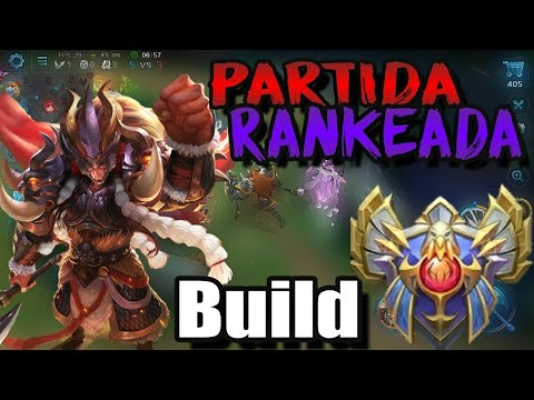 Heroes Evolved - Minos / Minotauro - Partida Rankeada - Meta Tank + Build Atualizada - Paládio